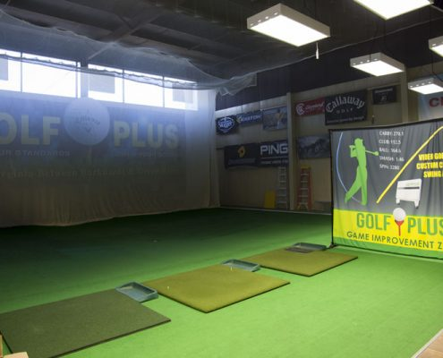 Golf Swing Virtual Range