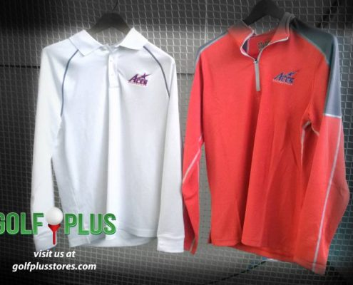 Custom Logo Long sleeve Polo
