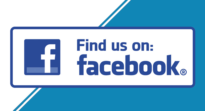 find us on facebook facebook